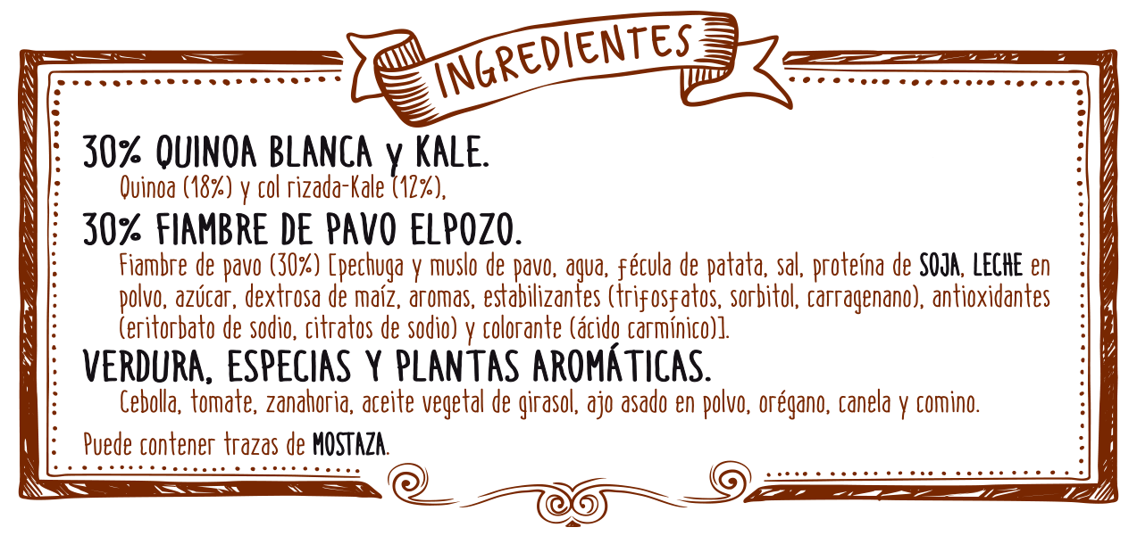 ingredientes quinoa kale