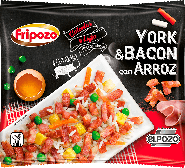 arroz york y bacon fripozo