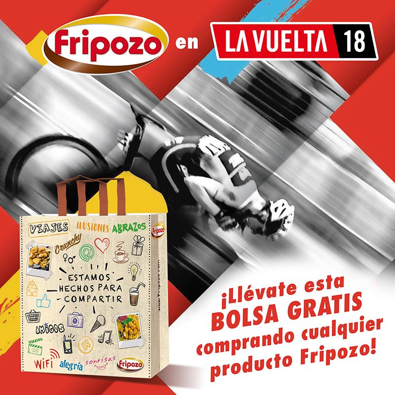 bolsa fripozo gratis promocion carrefour vuelta ciclista